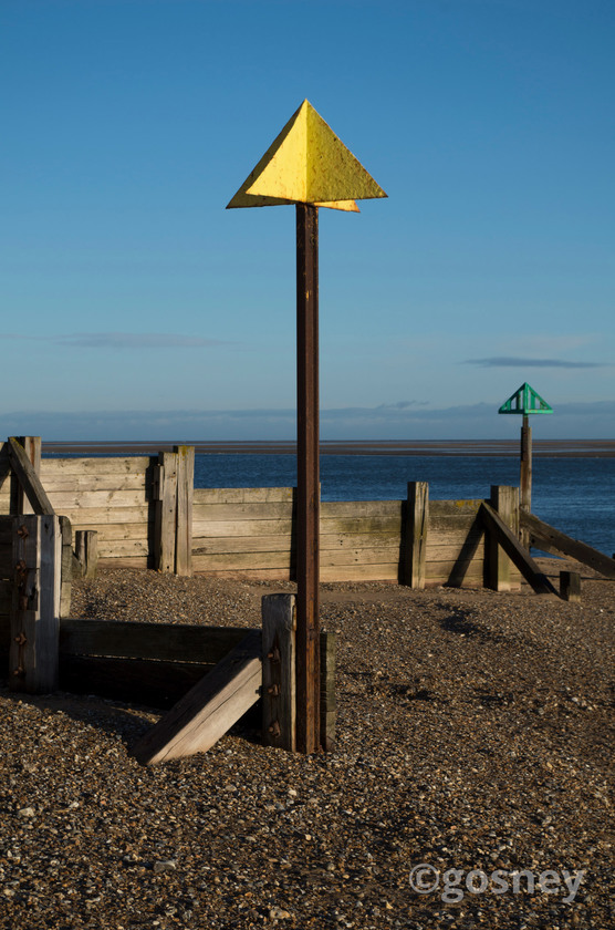Large tide markers wells next the sea 40