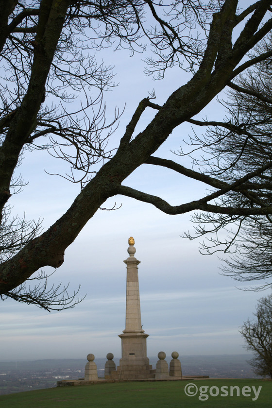 Large coombe hill monument 30