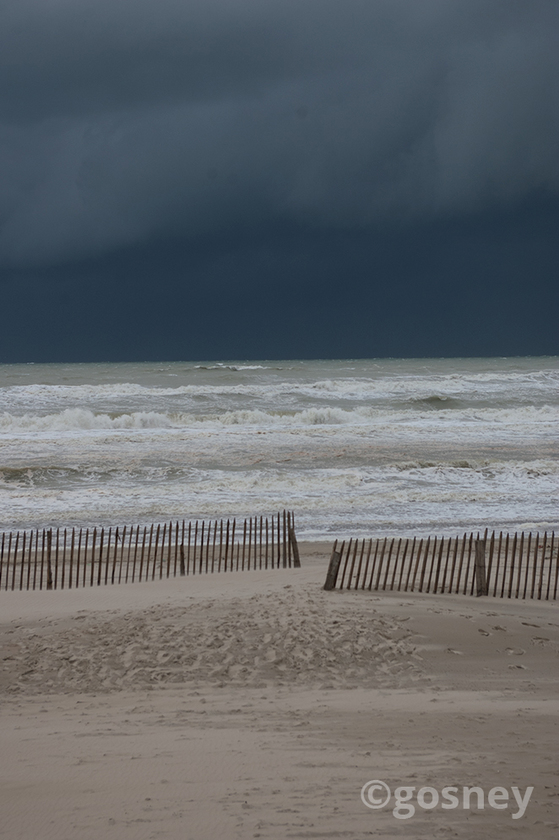 Large storm over french beach 23
