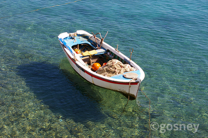 Medium fishing boat samos 20